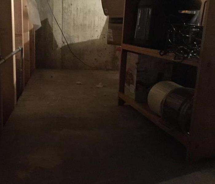 Crawlspace Water Damage  After