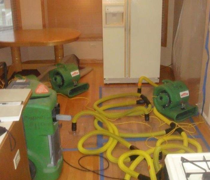 Saving a Hardwood Floor in Ottawa, IL Residence