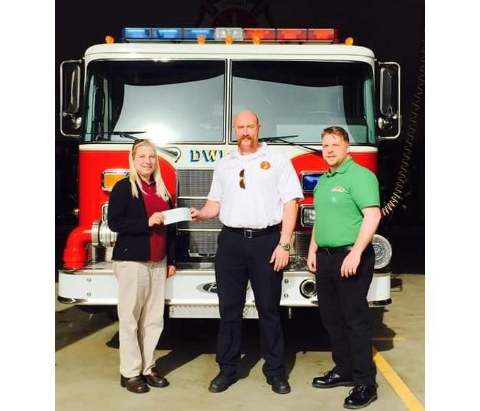 Community SERVPRO of Morris/Ottawa Proud to Support Dwight, IL Fire Protection District